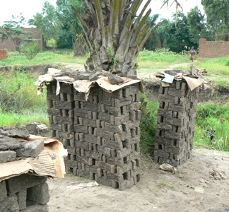 Drying Bricks