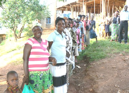 Beneficiaries of Goats and Crops Project