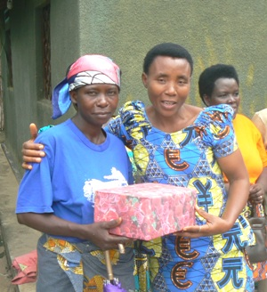 Gift Exchange between Beneficiary and Project Manager