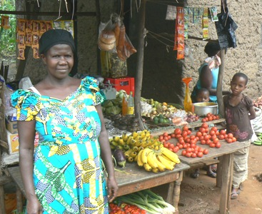 Small Store Started with a Small Mico-finance Loan