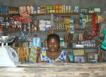 Beneficiary and Her Store
