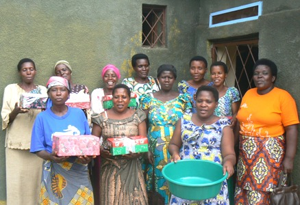 Women Ready for Gift Exchange