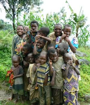 Friendly, Smiling Children